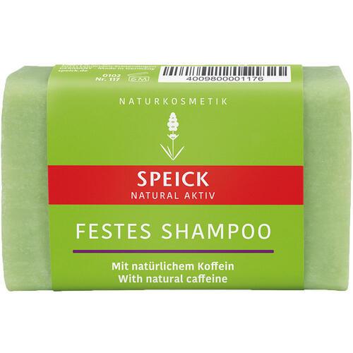 Natural Aktiv SPEICK Festes Shampoo mit natürlichem Koffein Naturkosmetik Seife für geschwächtes Haar