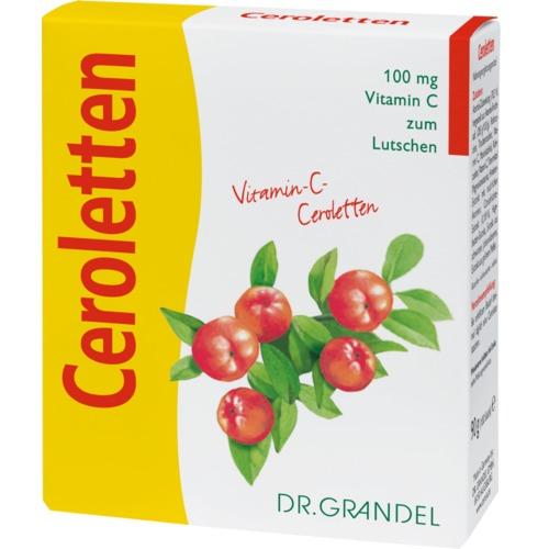 Vitamine & Bioflavonoide Dr. Grandel Ceroletten Vitamin-C-Ceroletten