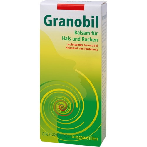 Phyto Specialities Dr. Grandel Granobil 100 pcs For throat and pharynx