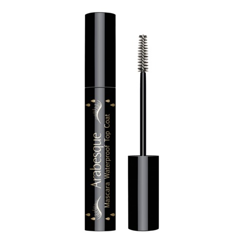 Arabesque: Mascara Waterproof Top Coat - Transparent setting gel