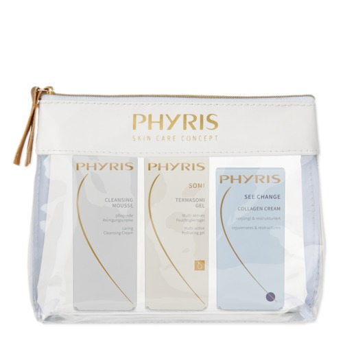 Trendline Phyris PHYRIS 3-Phasen Beauty at Home - Set Reinigung, Somi und Gesichtscreme im Set