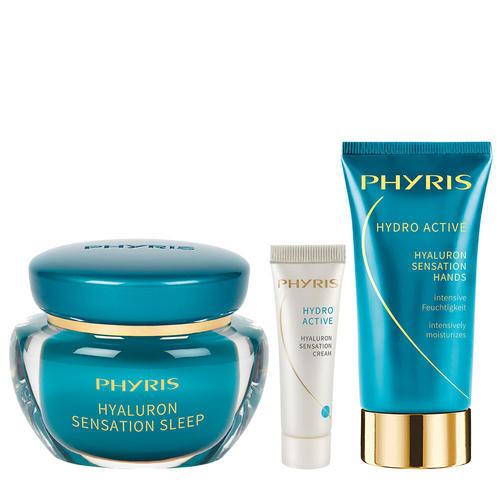Hydro Active Phyris Geschenkset Hyaluron Night & Day Drei Hyaluron Klassiker im Geschenkset