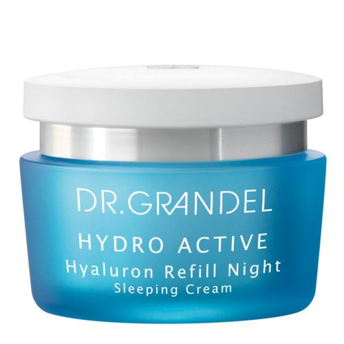 Hydro Active DR. GRANDEL Hyaluron Refill Night Guaranteed a firm moisture boost overnight