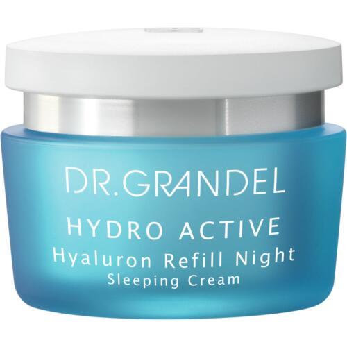 Hydro Active Dr. Grandel Hyaluron Refill Night Een hydraterende crème voor de nacht.
