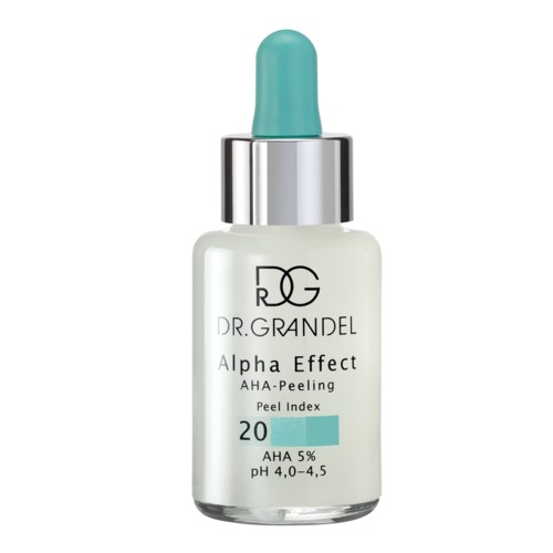 Cleansing Dr. Grandel Alpha Effect AHA-Peeling Peel Index 20 Fruchtsäure-Peeling mit Peel Index 20