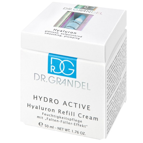 Hydro Active Dr. Grandel Hyaluron-Duo Hyaluron Refill Cream mit gratis Hyaluron Ampulle