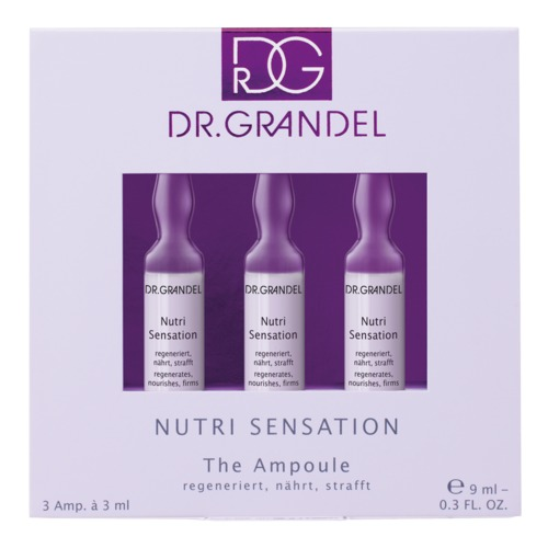 Nutri Sensation Dr. Grandel The Ampoule 3 x 3 ml Regenerating, nourishing, firming ampoule