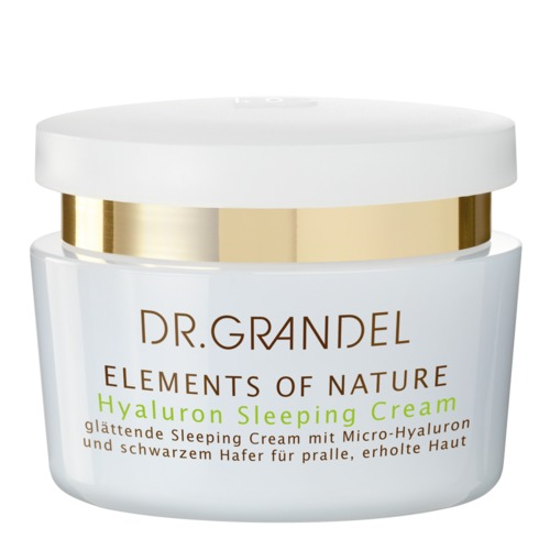 Elements of Nature Dr. Grandel Hyaluron Sleeping Cream Hyaluron Nachtpflege für pralle, glatte Haut