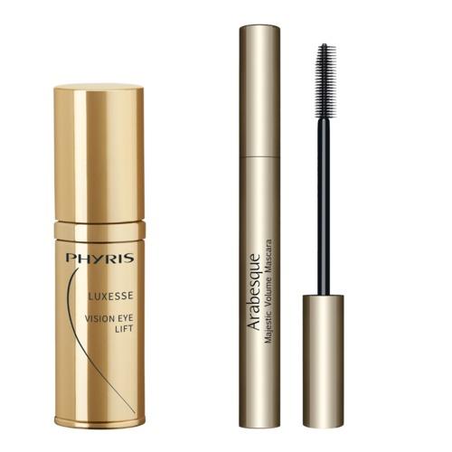 Luxesse Phyris Geschenkset Gouden Ogenblikken Verstevigende oogcrème en luxueuze mascara
