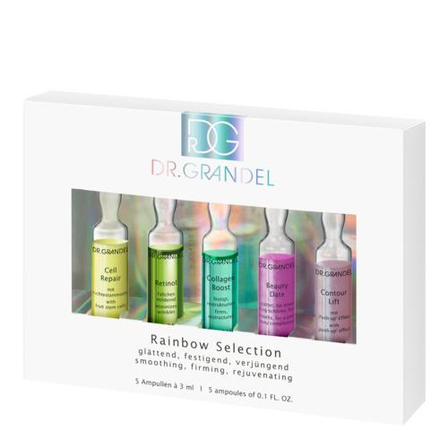 Professional Collection Dr. Grandel Rainbow Selection Kleurrijke ampullenset voor een stralende huid