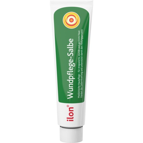 Medizinische Hautpflege ilon Wundpflege-Salbe bei strapazierter, wunder und geröteter Haut