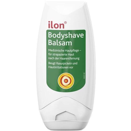 Medizinische Hautpflege ilon Bodyshave Balsam beugt Rasurpickeln und Hautirritationen vor