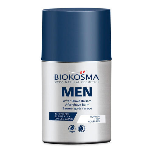 Men's Care BIOKOSMA After Shave Balsam Kühlende & beruhigende Naturkosmetik