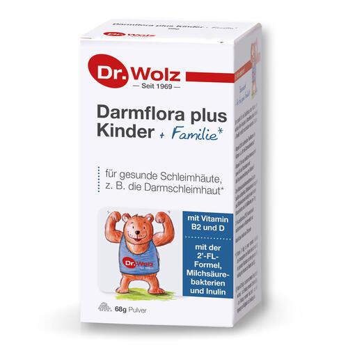 Darmgesund Dr. Wolz Darmflora plus Kinder + Familie Bärenstark für die ganze Familie