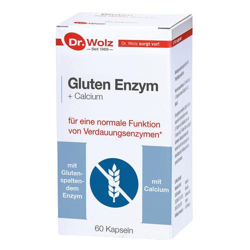 Darmgesund Dr. Wolz Gluten Enzym + Calcium Für eine normale Funktion von Verdauungsenzymen*