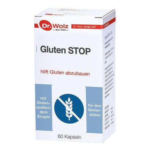 Darmgesund Dr. Wolz Gluten STOP hilft Gluten abzubauen
