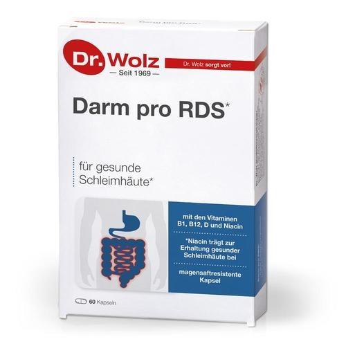 Darmgesund Dr. Wolz Darm pro RDS Reizdarm - Kapseln Zum Diätmanagement bei Reizdarmsyndrom