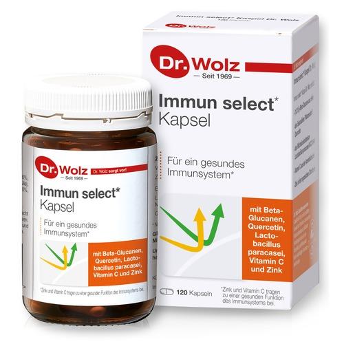 Immunkomplex Dr. Wolz Immun select Kapseln Für ein gesundes Immunsystem