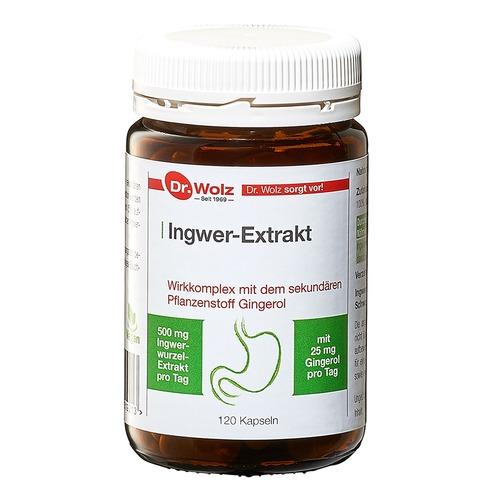 Phyto Dr. Wolz Ingwer-Extrakt Ingwerwurzel-Extrakt mit hoher Qualität