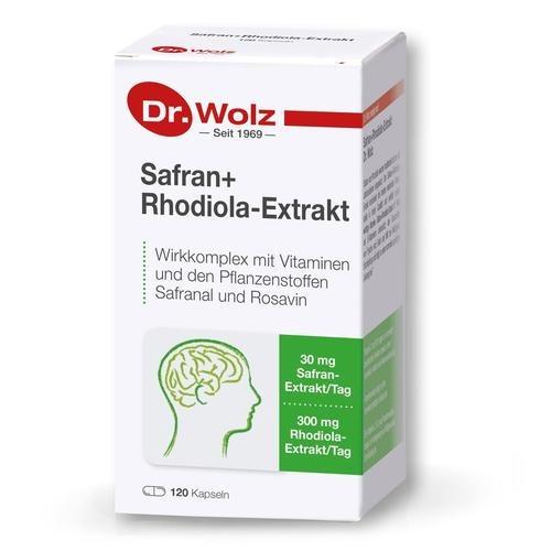 Phyto Dr. Wolz Safran+Rhodiola-Extrakt Für die Gesundheit von Psyche & Geist