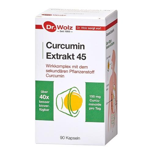 Phyto Dr. Wolz Curcumin Extrakt 45 Mit dem sekundären Pflanzenstoff Curcumin