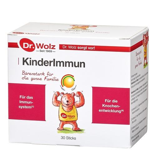 Immunsystem Dr. Wolz KinderImmun Sticks Bärenstark für die ganze Familie