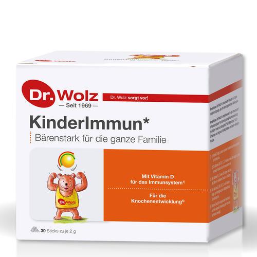 Immunkomplex Dr. Wolz KinderImmun Sticks Bärenstark für die ganze Familie