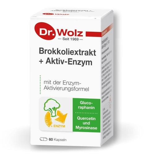 Phyto Dr. Wolz Brokkoliextrakt + Aktiv-Enzym Mit der Enzym-Aktivierungsformel