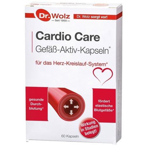 Herz & Kreislauf Dr. Wolz Cardio care Gefäß-Aktiv-Kapseln