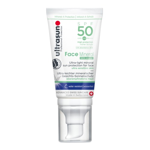 Face Ultrasun Face Mineral SPF50 Minerale zonnebrandbescherming voor het gezicht