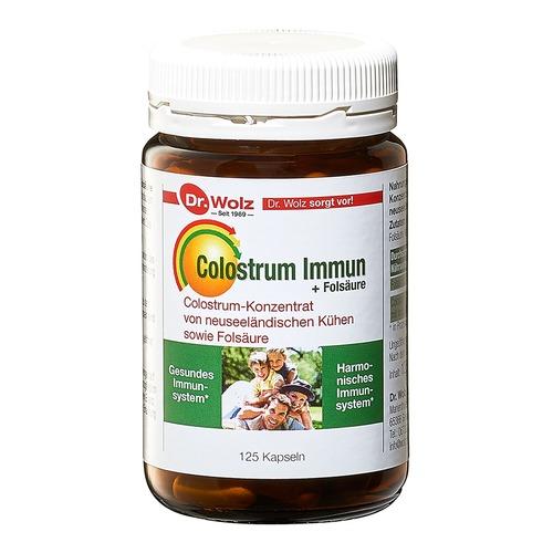 Immunkomplex Dr. Wolz Colostrum Immun + Folsäure Gesundes & Harmonisches Immunsystem
