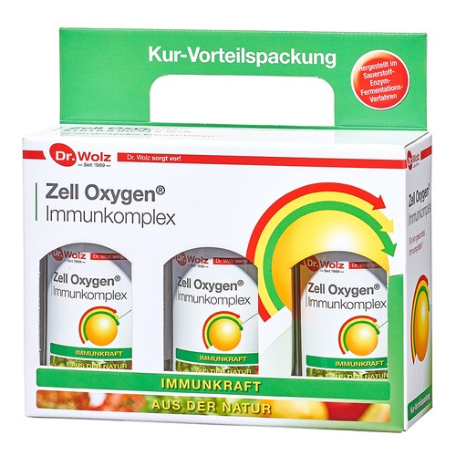 Immunkomplex Dr. Wolz Zell Oxygen® Immunkomplex - Kurpackung Immunsystem natürlich stärken
