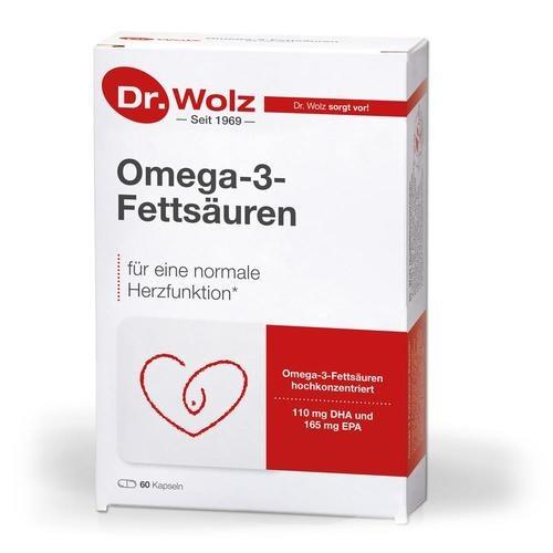 Herz & Kreislauf Dr. Wolz Omega-3-Fettsäuren Fördert eine normale Herzfunktion