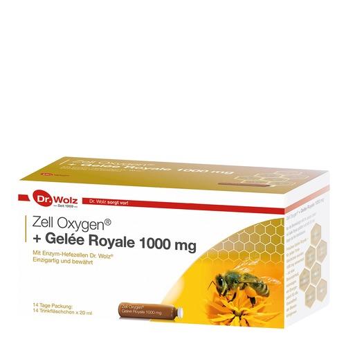 Stärkung & Regeneration Dr. Wolz Zell Oxygen + Gelée Royale 1000mg Stärkung & Regeneration - Anti- Aging