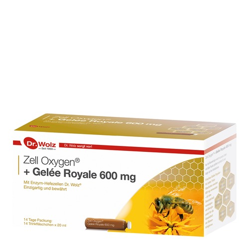 Stärkung & Regeneration Dr. Wolz Zell Oxygen + Gelée Royale 600mg Stärkung & Regeneration - Anti-Aging