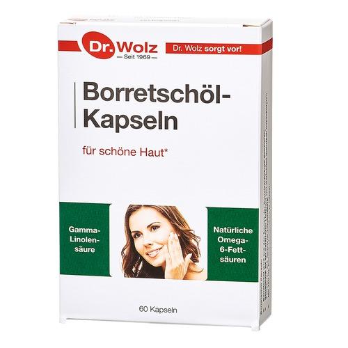 Speziell für Frau & Mann Dr. Wolz Borretschöl-Kapseln Borretschöl Kapseln für die Haut und Stoffwechsel