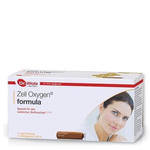 Speziell für Frau & Mann Dr. Wolz Zell Oxygen formula Speziell für den weiblichen Stoffwechsel