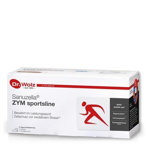 Für Höchstleistungen im Sport Dr. Wolz Sanuzella® ZYM sportsline Ampullentrinkkur mit Wirkstoffkomplex für Sportler