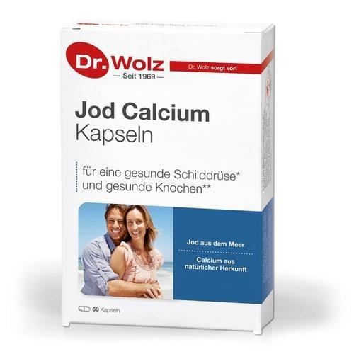 Vitamine & Mineralstoffe Dr. Wolz Jod-Calcium-Kapseln Natürlichen Ursprung aus dem Meer