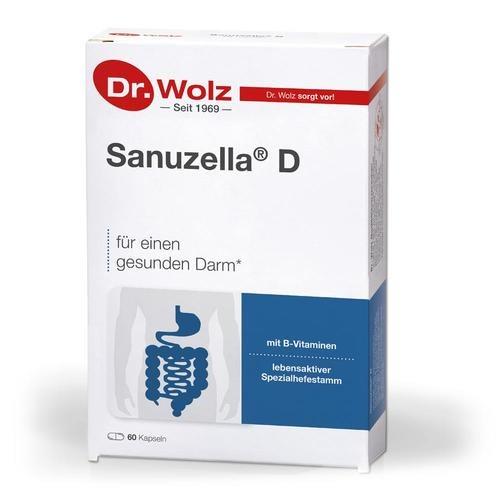 Darmgesund Dr. Wolz Sanuzella D Darmkapseln Lebensaktive Spezialhefe für gesunde Darmfunktion