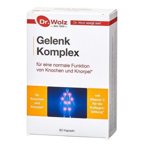 Muskel, Gelenke & Knochen Dr. Wolz Gelenk Komplex Knorpelnährstoffe für starke Gelenke