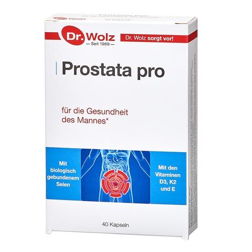 Speziell für Frau & Mann Dr. Wolz Prostata pro Kapseln Schutz für den Mann