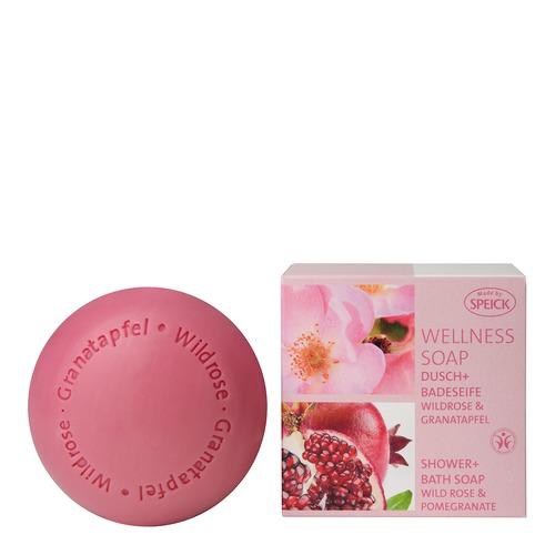 Wellness Soaps SPEICK Wildrose & Granatapfel Dusch- und Badeseife