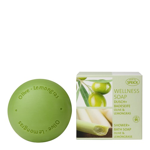 Made by Speick Wellness Soaps SPEICK Olive & Lemongras Dusch- und Badeseife