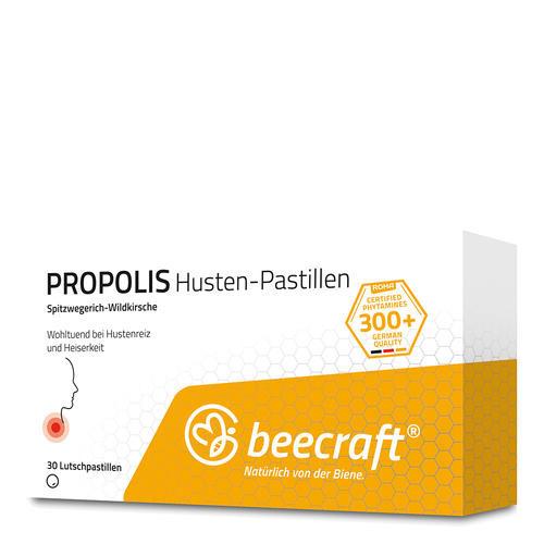 Propolis beecraft PROPOLIS Husten-Pastillen Bei Hustenreiz und Heiserkeit
