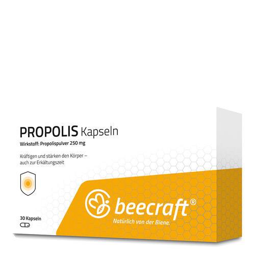 Propolis beecraft PROPOLIS Kapseln 30 Zur Kräftigung und Stärkung des Allgemeinbefindens
