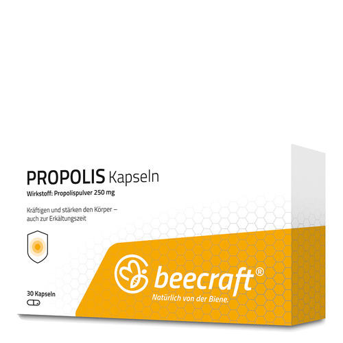 Propolis beecraft PROPOLIS Kapseln 30 Zum Einnehmen