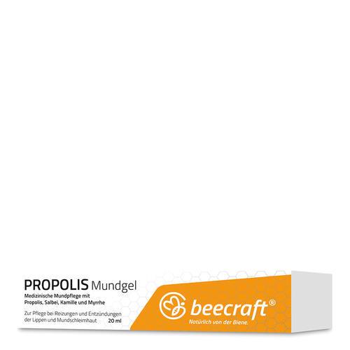 Propolis beecraft PROPOLIS Mundgel Propolis Mundgel mit Salbei, Kamille und Myrrhe
