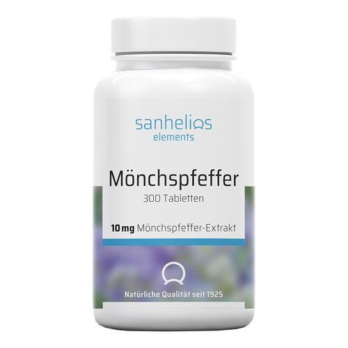 Sanhelios Mönchspfeffer Tabletten Hochdosierte Tabletten mit je 10mg Mönchspfeffer