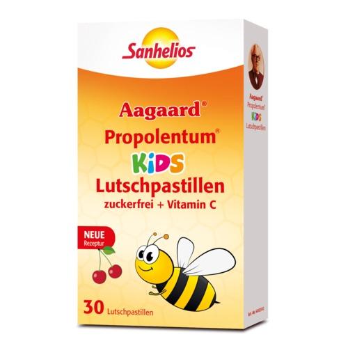 Aagaard Sanhelios Propolentum KIDS Lutschpastillen Lutschpastillen (mit Vitamin C, zuckerfrei)